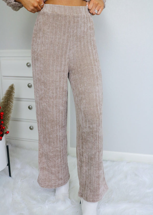 Keeping It Casual Knit Pants Bottoms Emory Park
