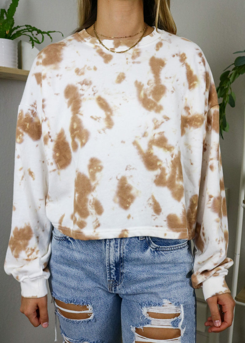 Kendall Tie-Dye Pullover Pullover ~