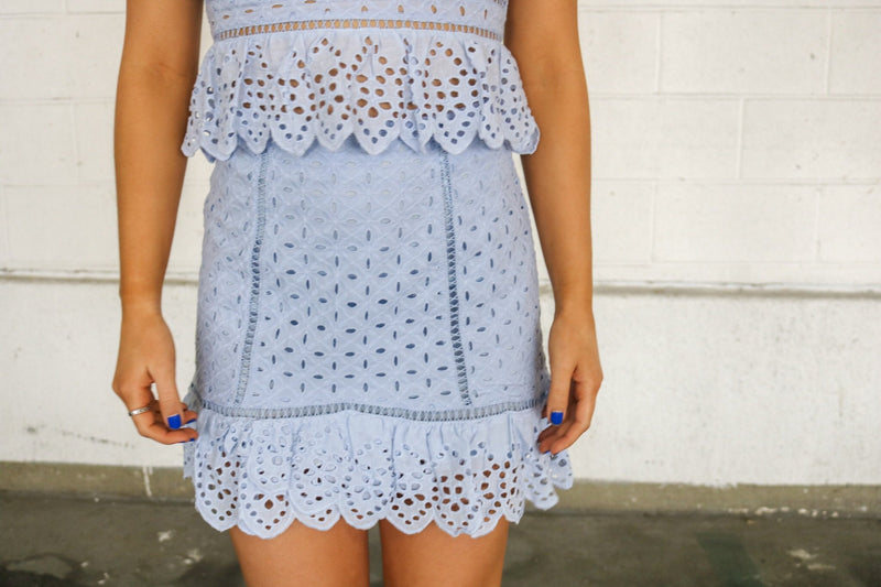 Lauren Lace Skirt Skirt ~