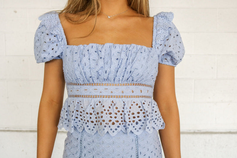 Lauren Lace Top Top ~