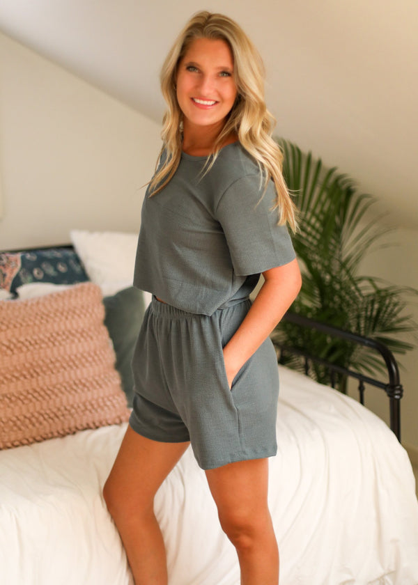 Lewis Twig Top + Shorts Set Bolt Boutique