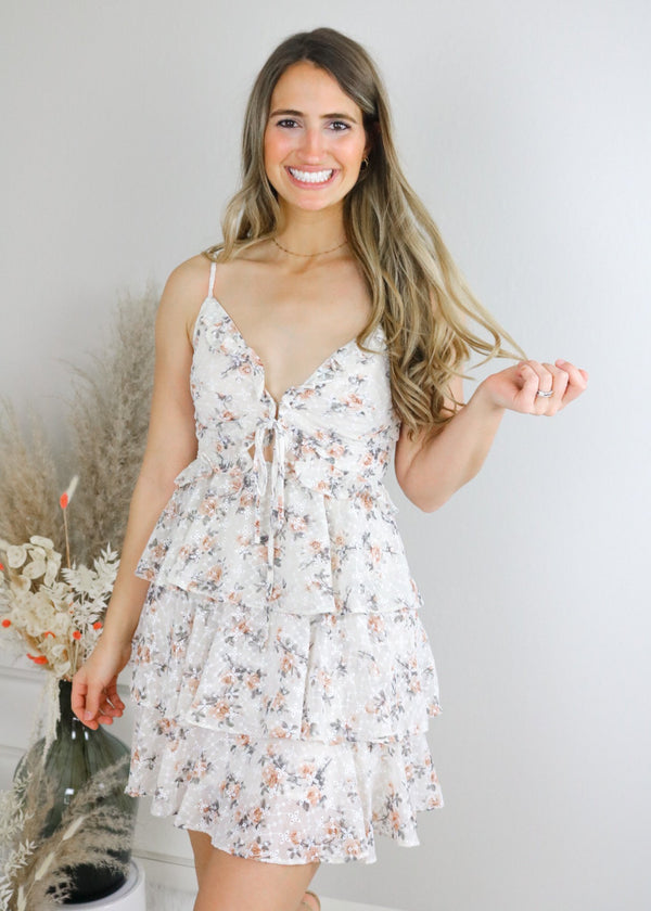 May Flowers Ruffle Dress Dress Storia