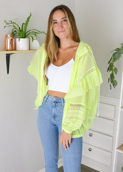 Neon Lights Jacket Jacket ~