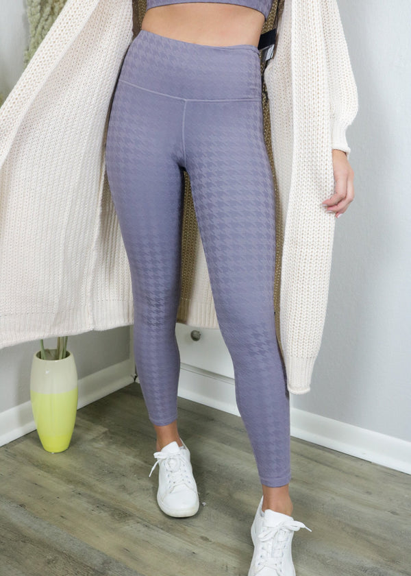 Peak Season Houndstooth Leggings Bottoms ~