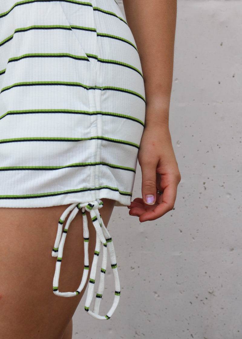 Ray Striped Lounge Shorts Shorts ~