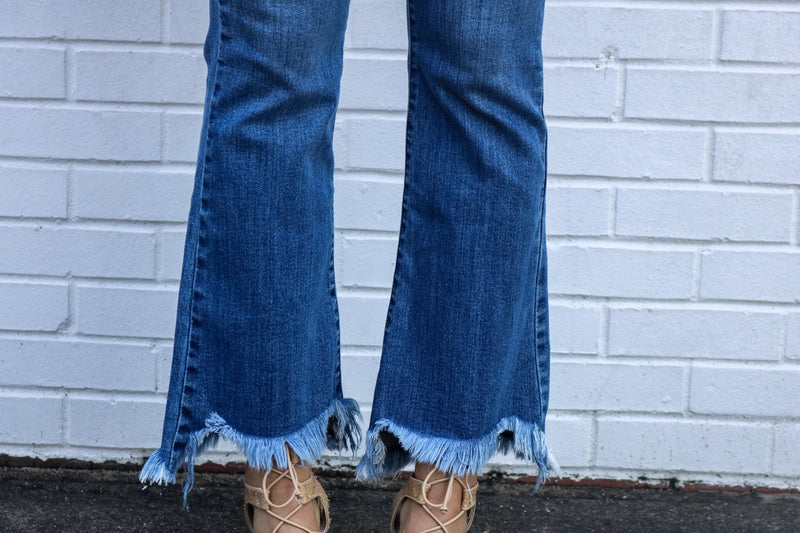 Retro Flare Jeans Jeans Hidden Denim