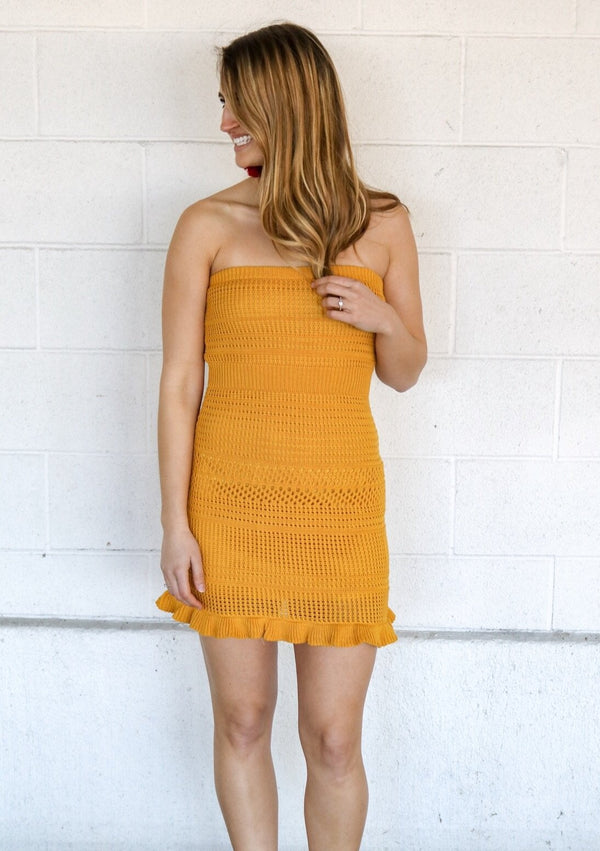 Summer Nights Knit Dress Dress ~
