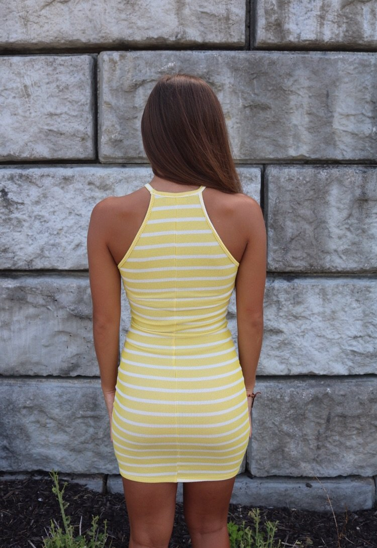 Sunny Striped Dress Dress ~