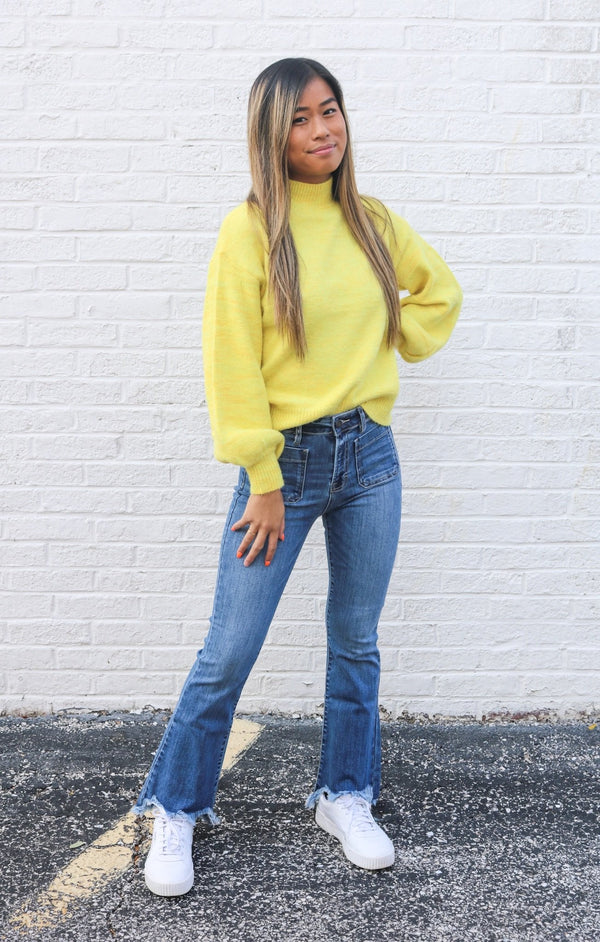 Sunshine Turtleneck Sweater Sweater ~