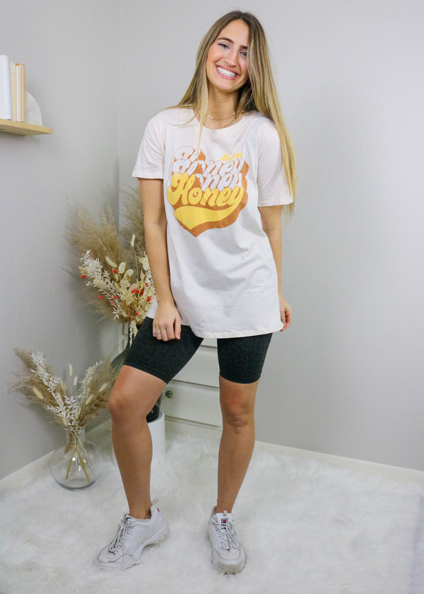 Sweet Honey Graphic Tee Top Tres Bien