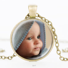 Personalized Photo Pendants Necklace