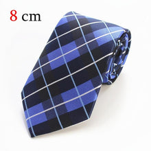 (8cm) Dot Striped Neckties for Men - AEIGARTZ.COM