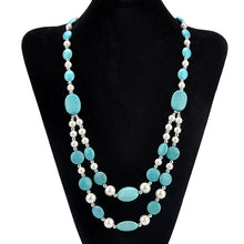 Natural stone Beads Choker Vintage Necklaces Pendants Statement Necklaces & Long Necklace - AEIGARTZ.COM