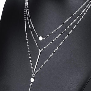 Charming 3 layer Necklace - AEIGARTZ.COM