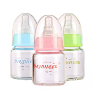 (60ML) Glass Baby Feeding Bottle - AEIGARTZ.COM