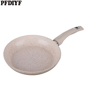 Non toxic 20cm Medical stone Non Stick Frying Pan General Use for Gas and Induction - AEIGARTZ.COM