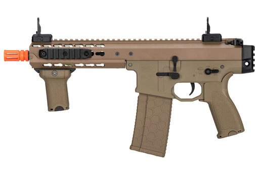 "Lancer Tactical Warlord 8"" Type C Airsoft SMG, Dark Earth"