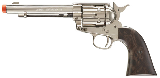 Legends Smoke Wagon CO2 Airsoft Revolver, Nickel