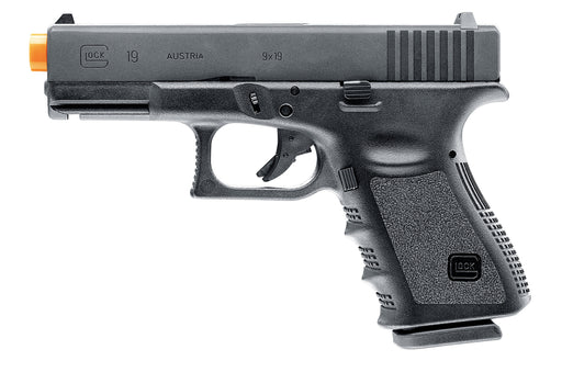 GLOCK Gen 4 G19 Gas Blowback Airsoft Pistol, Black