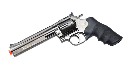 "Dan Wesson 715 6"" Steel Grey CO2 Airsoft CQB Revolver"