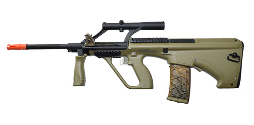 Steyr AUG A1 Proline Bullpup AEG Airsoft Rifle, Tan/FDE