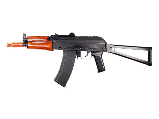 SRC AK74U Krinkov Real Wood & Full Metal Gas Blowback Airsoft RIfle