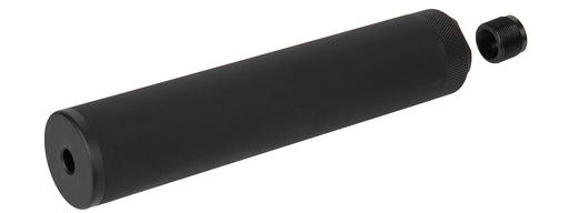 Specwar-I F38X185.4MM Style Aluminum Mock Silencer, 14mm CCW - Black
