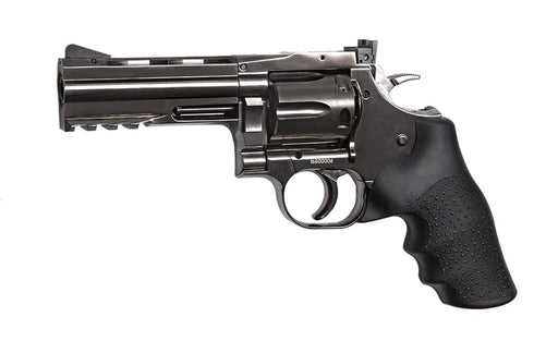 "Dan Wesson 715 4"" Steel Grey CO2 Airsoft Revolver"