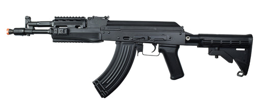 LCT AK-104 AEG Airsoft Rifle w/ LE Stock, Black