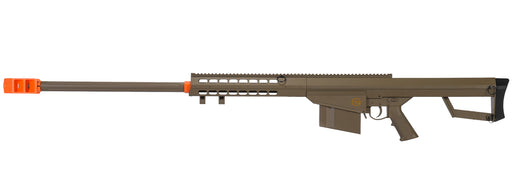 Lancer Tactical M82 50-Cal Style Airsoft Spring Sniper Rifle, Tan