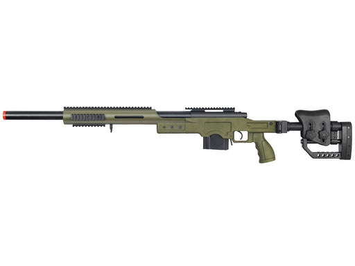 Well MB4410G Bolt Action Sniper Rifle with RIS & Folding Sniper Stock