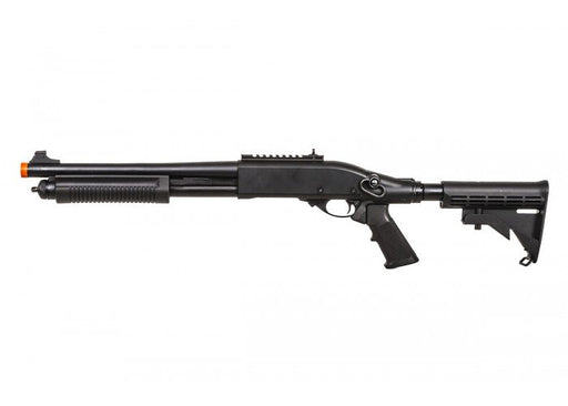 JAG Arms Scattergun TS Gas Powered LE Stock Shotgun, Black