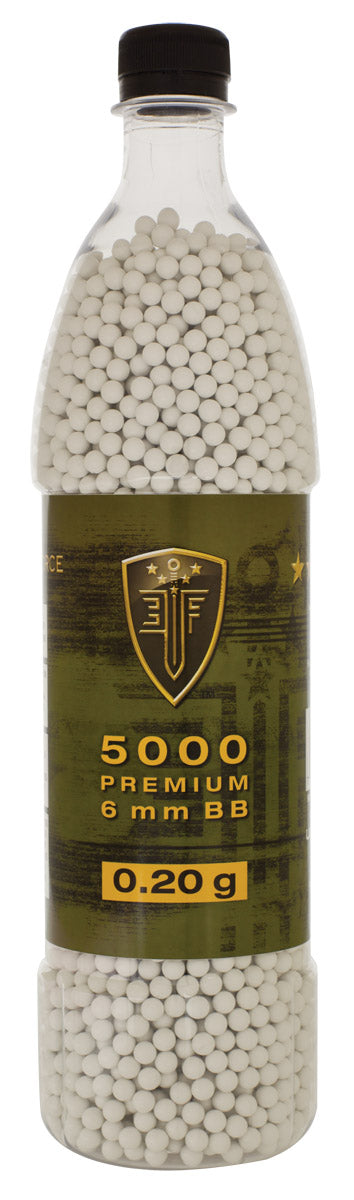 Elite Force Premium BBs, 0.20g, 5000 rounds