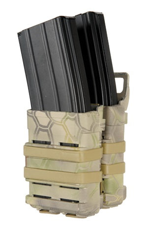 Emerson Quick Draw Double M4 Magazine Holster - Mandrake Camo