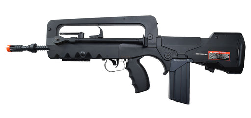 Cybergun FAMAS AEG Airsoft Rifle, Black
