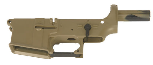 JG/Golden Eagle ABS Lower Receiver for M4 AEG, Tan