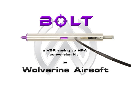 Wolverine Airsoft BOLT HPA Sniper Rifle Conversion Kit, Version 2