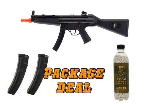 H&K MP5 A4 Competition Series Airsoft SMG Combo Package