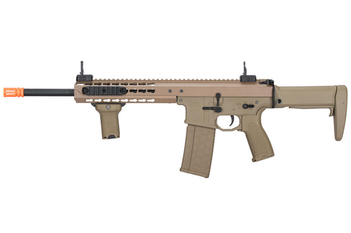 "Lancer Tactical Warlord 10.5"" Type B Carbine Airsoft Rifle, Low FPS Version, Dark Earth"