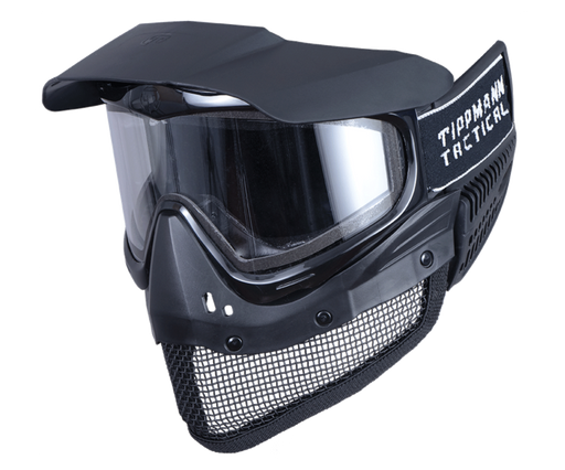 Tippmann Tactical Goggles & Integrated Mesh Mask Full Face Protection System