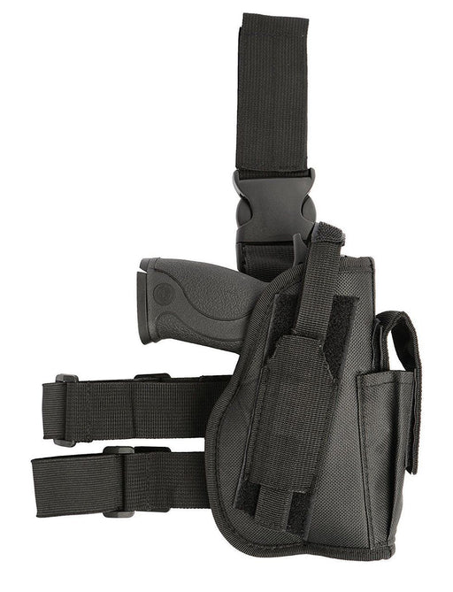 AMP Tactical Leg Holster, Right Handed, Black