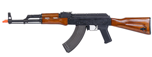 Lancer Tactical Metal AK-47 AEG w/Blowback & Real Wood