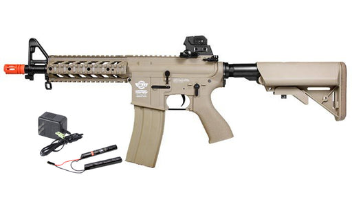 G&G CM16 Raider-S w/ 9.6v Battery & Charger, Tan