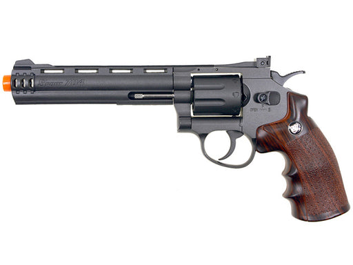 "WG 8-Shot CO2 6"" Airsoft Revolver, Black"