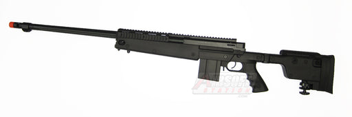 Well MB4407 PGM Full Size Airsoft Sniper Rifle with Rails and Folding Stock