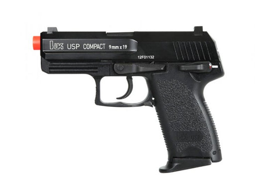 H&K USP Compact Gas Blowback Airsoft Pistol, Full Metal by KWA