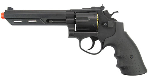 "HFC HG-133 Savaging Bull 6"" Barrel Gas Revolver, Black"