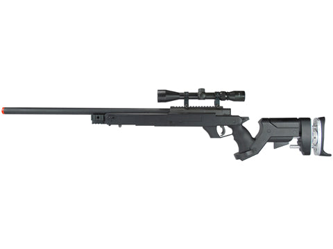 TSD Tactical SD97 Bolt Action Sniper Rifle - Black