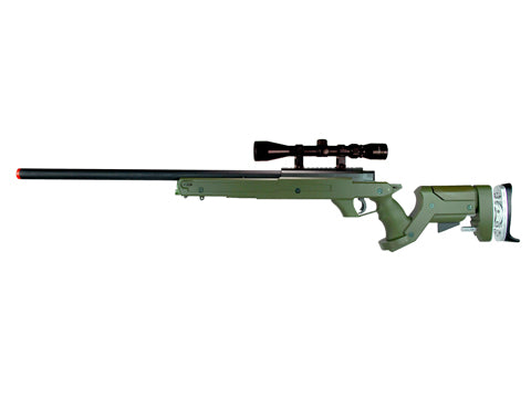 TSD Tactical SD97 Bolt Action Sniper Rifle - OD Green