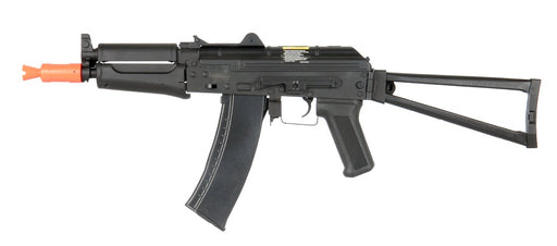 Lancer Tactical AKS-74U RIS AEG Airsoft Rifle, Black